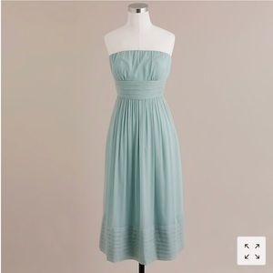 J. Crew Juliet Silk Chiffon Dress Size 10